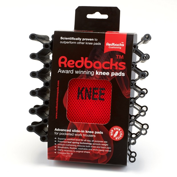 Redbacks Cushioning kneepads